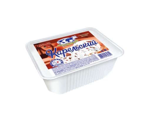 Мороженое Пломбир с шоколадной крошкой ТМ Карельский