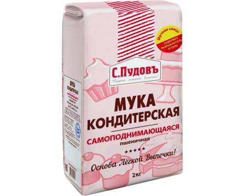 Мука ТМ С.Пудовъ, самоподнимающаяся, 1 кг