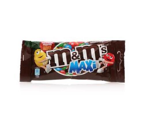 Драже с молочным шоколадом maxi (макси) ТМ M&M's (Эмэмдэмс)