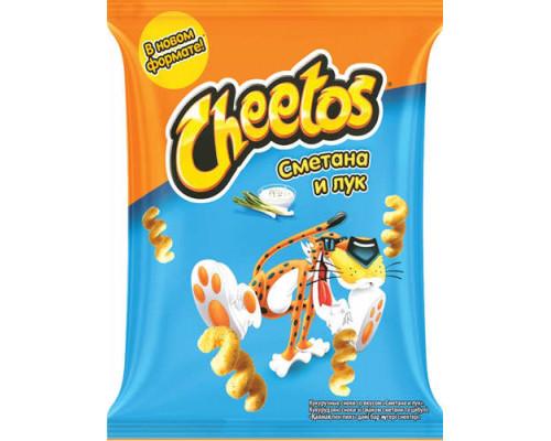 Кукурузные чипсы Cheetos (Читос) сметана и лук, 55 г