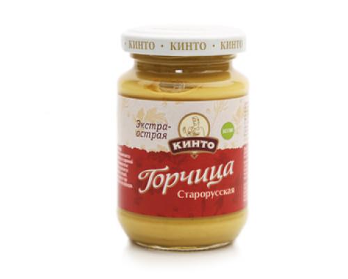 Горчица Старорусская экстра-острая ТМ Кинто
