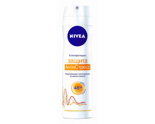 Дезодорант женский Nivea Защита антистресс спрей 150мл