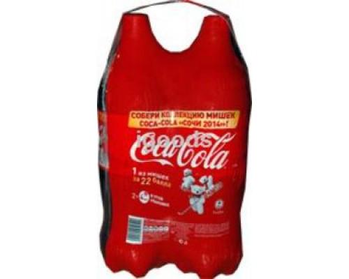 Сильногазированный напиток TM Coca-Cola (Кока-Кола) 2*1,5л