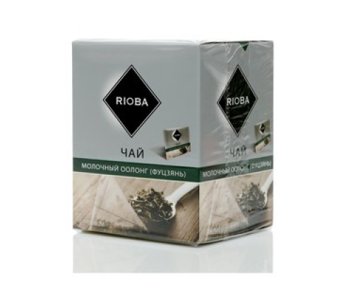 Чай красный ТМ Rioba (Риоба) молочный оолонг (фуцзянь), 20 пакетиков