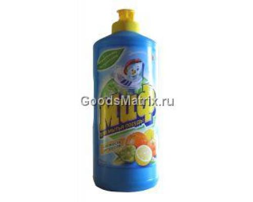 Средство для мытья посуды ТМ Миф Цитрусовая свежесть, 500 мл
