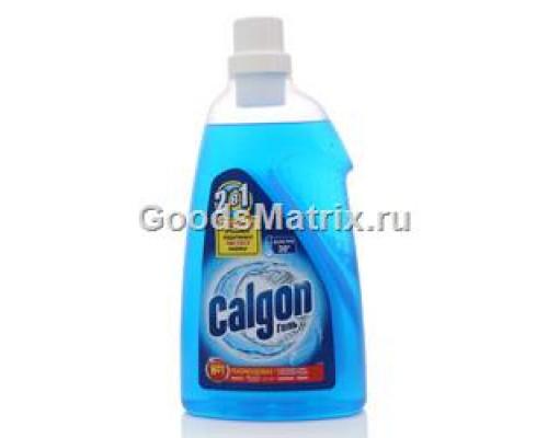 Средство для смягчения воды и предотвращения образования накипи 2 в 1 гель ТМ Calgon (Калгон), 1,5 л