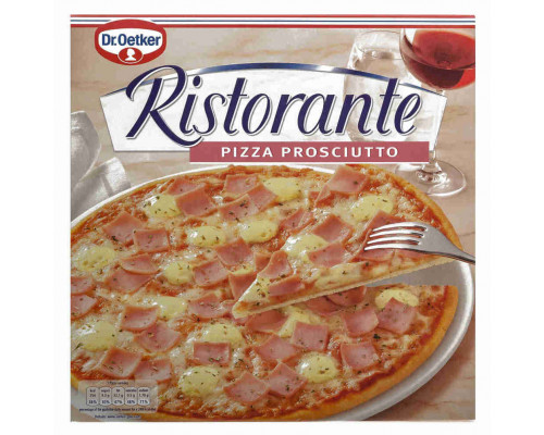 Пицца Ristorante ветчина 335г