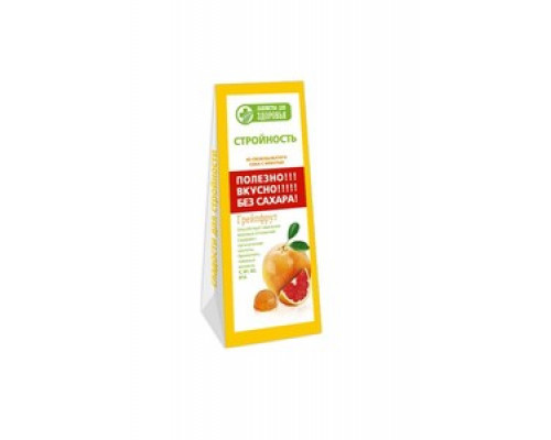 Конфеты желейные на фруктозе Грейпфрут ТМ Конфаэль