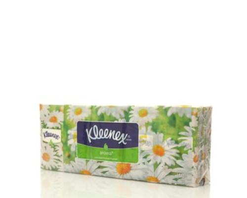 Носовые платочки ТМ Kleenex (Клинекс), 10*10шт