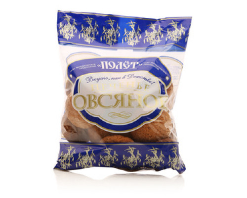 Печенье овсяное ТМ Полет