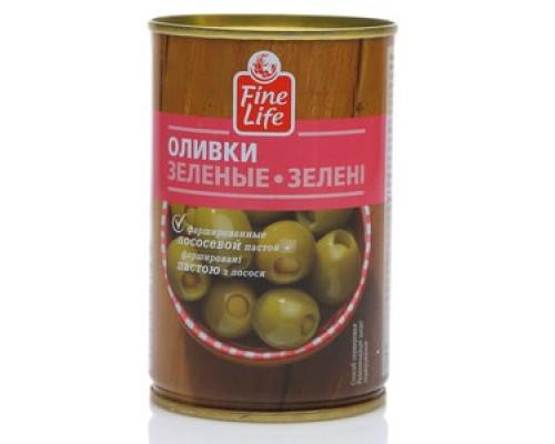 Оливки зеленые с лососем ТM Fine Life (Файн Лайф)
