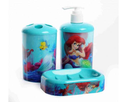 Набор аксессуаров д/ванной Disney диспенсер/стакан/мыльница в ассортименте