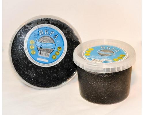 Икра ТМ Дары моря черная, имитированная, 450 г