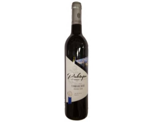 Вино Ривьера Таманское красное, сухое, 10-12%, 0.7 л