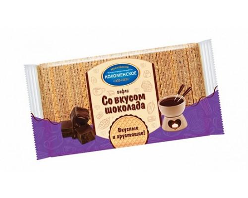 Вафли ТМ Коломенское» со вкусом шоколада, 220 г