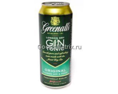 Джин-тоник ТМ Greenall`s (Гриноллс) Original, 9%, 500 мл