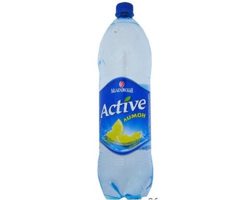 Вода ТМ Малаховская Active лимон, 1,5 л