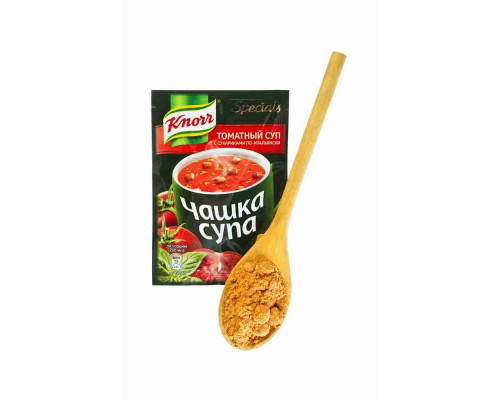 Суп томатный Knorr Чашка супа по-итальянски с сухариками 18г