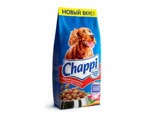 Сухой корм для собак ТМ Chappi (Чаппи) Сытный Мясной обед с говядиной, 15 кг
