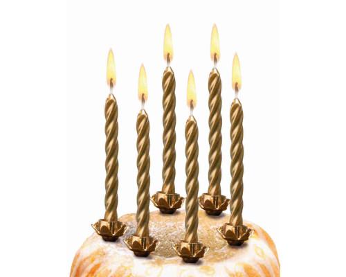 Свечи для торта 10шт/подсв/зо