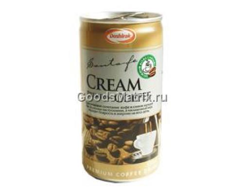 Напиток кофейный Премиум Santafe ТМ Doshirak (Доширак), сливки, 175 мл