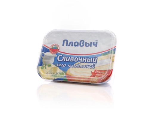 Сливочный сыр плавленный ТМ Плавыч