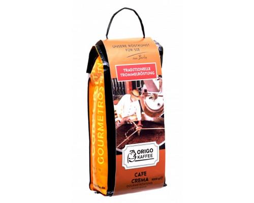 Кофе ТМ Origo Kaffee (Ориго Кафе) Cafe Crema, в зернах, средняя обжарка, 1 кг
