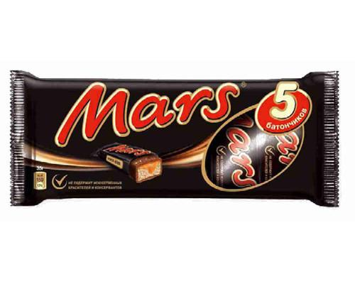 Батончик шоколадный Mars 202,5 г