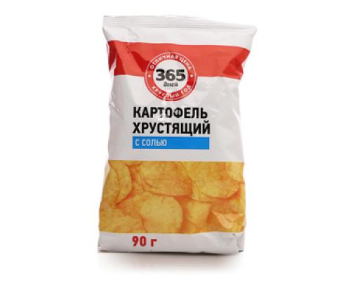 Чипсы с солью ТМ 365 дней