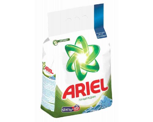 Стиральный порошок Ariel Горный родник автомат 4,5кг