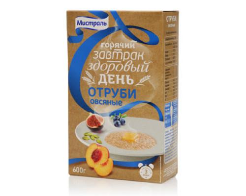 Отруби овсяные Горячий завтрак ТМ Мистраль