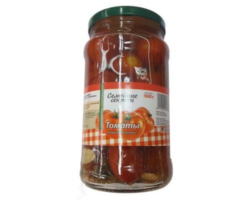 семеные секреты томаты маринованные 1600г с/б (техада)