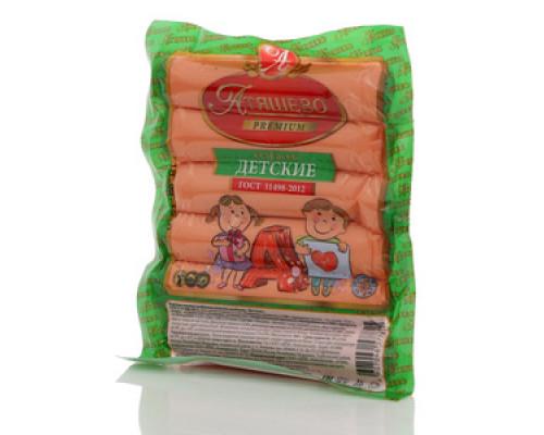Колбаски детские ТМ Атяшево