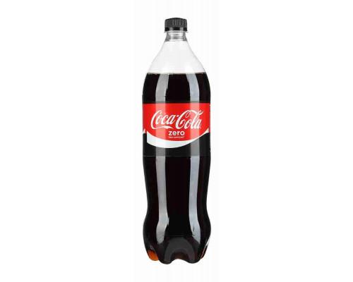 Напиток Coca-Cola Zero б/алк газ 1,5л пэт