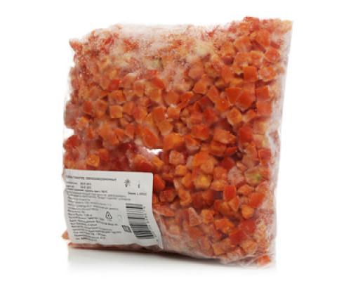 Кубики томатов свежезамороженные