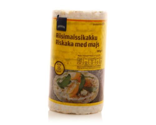 Галеты рисовые с кукурузой ТМ Rainbow (Рейнбоу)
