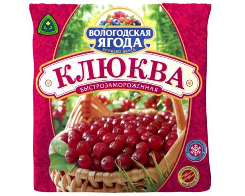 Клюква дикорастущая ТМ Вологодская ягода Кружево Вкуса, 300 г