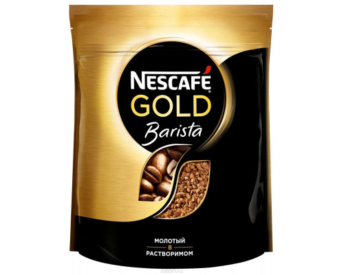 Кофе ТМ Nescafe (Нескафе), растворимый Gold Barista 150 г