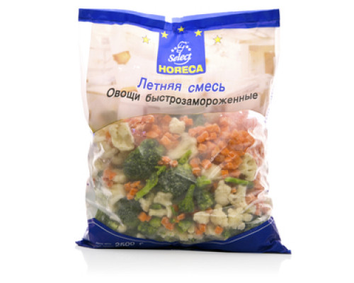Смесь летняя овощная замороженная ТМ Horeca Select (Хорека Селект)