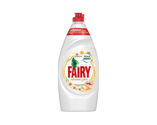 Средство для мытья посуды ТМ Fairy (Фэйри) Нежные руки, ромашка/витамин E, 900 мл