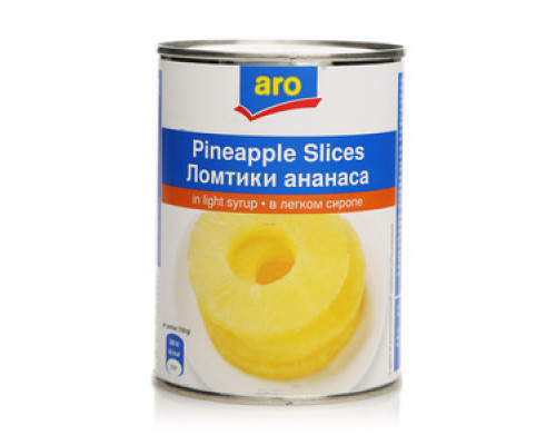Ломтики ананаса в сиропе TM Aro (Аро)