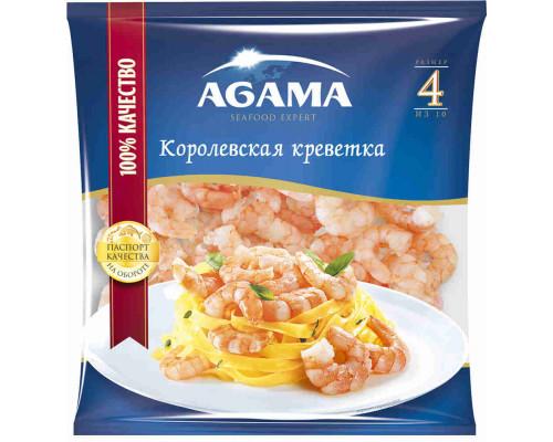 Креветки королевские Agama Для пасты очищенные в/м 26/30 300г