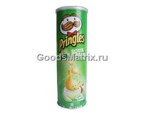 Чипсы ТМ Pringles (Принглс), Сметана-лук 165 г
