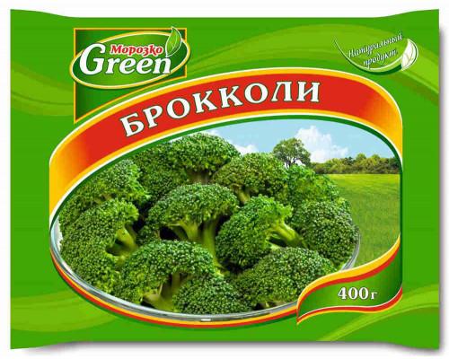 Брокколи Морозко Green 400г