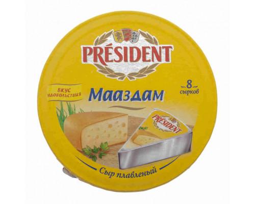 Сыр President Мааздам 8 сырков 140г