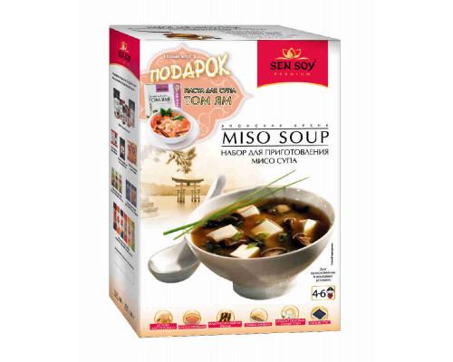 Набор д/мисо-супа Sen Soy Premium 160г