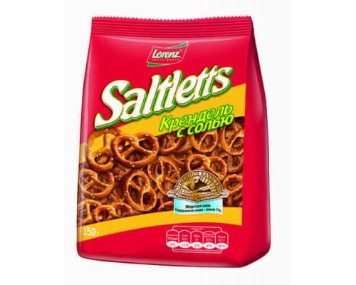 Крендель Saltletts с солью 150г