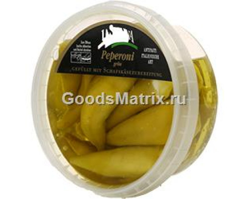 Зеленый перец ТМ La Sienna (Ла Сиенна), фаршированный сыром, 250 г