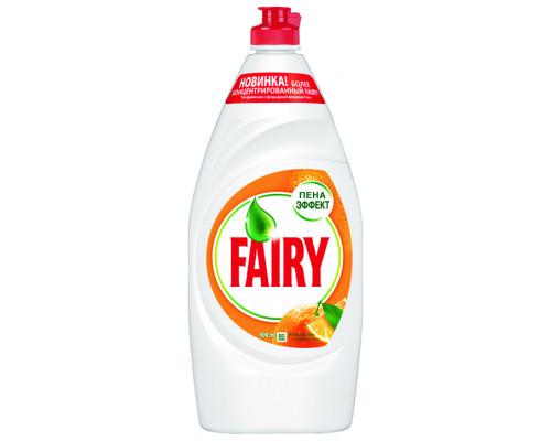 Средство для мытья посуды ТМ Fairy (Фэйри) Апельсин и лимонник, 900 мл