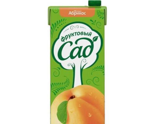 Нектар ТМ Фруктовый Сад, абрикос-яблоко, с мякотью, 1,93 л